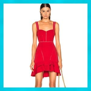 REVOLVE Jonathan Simkhai Stunning Coral Red Dress